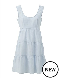 v-by-very-tiered-cotton-sleeveless-mini-beach-dress-stripe