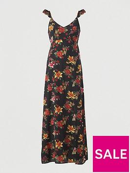 v-by-very-open-back-chiffon-maxi-beach-dress-tropical-print