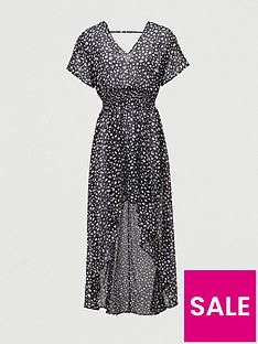 v-by-very-puff-sleeve-sheer-beach-cover-up-animal-print