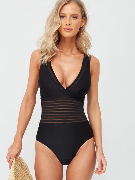 v-by-very-shape-enhancingnbspmesh-insert-swimsuit-black