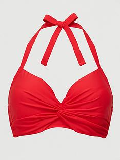v-by-very-shapewear-twist-front-bikini-top-red