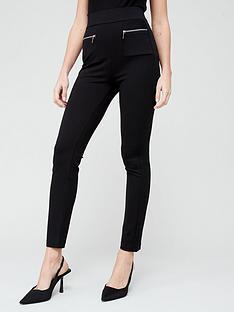 v-by-very-valuenbspponte-tall-skinny-trousers--nbspblack
