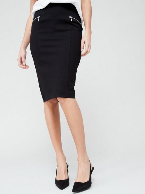 v-by-very-the-zip-workwear-midi-black