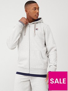 fila-tenconi-zip-through-fleece-hoodie-grey