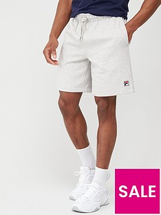 fila-vico-peached-fleece-shorts-grey