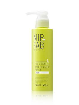 nip-fab-teen-skin-fix-pore-blaster-wash-night