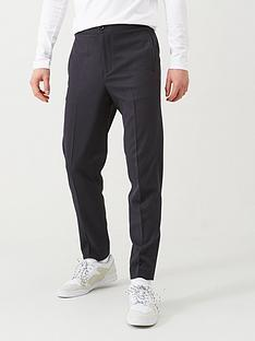 selected-elasticated-waistband-trousers-navy