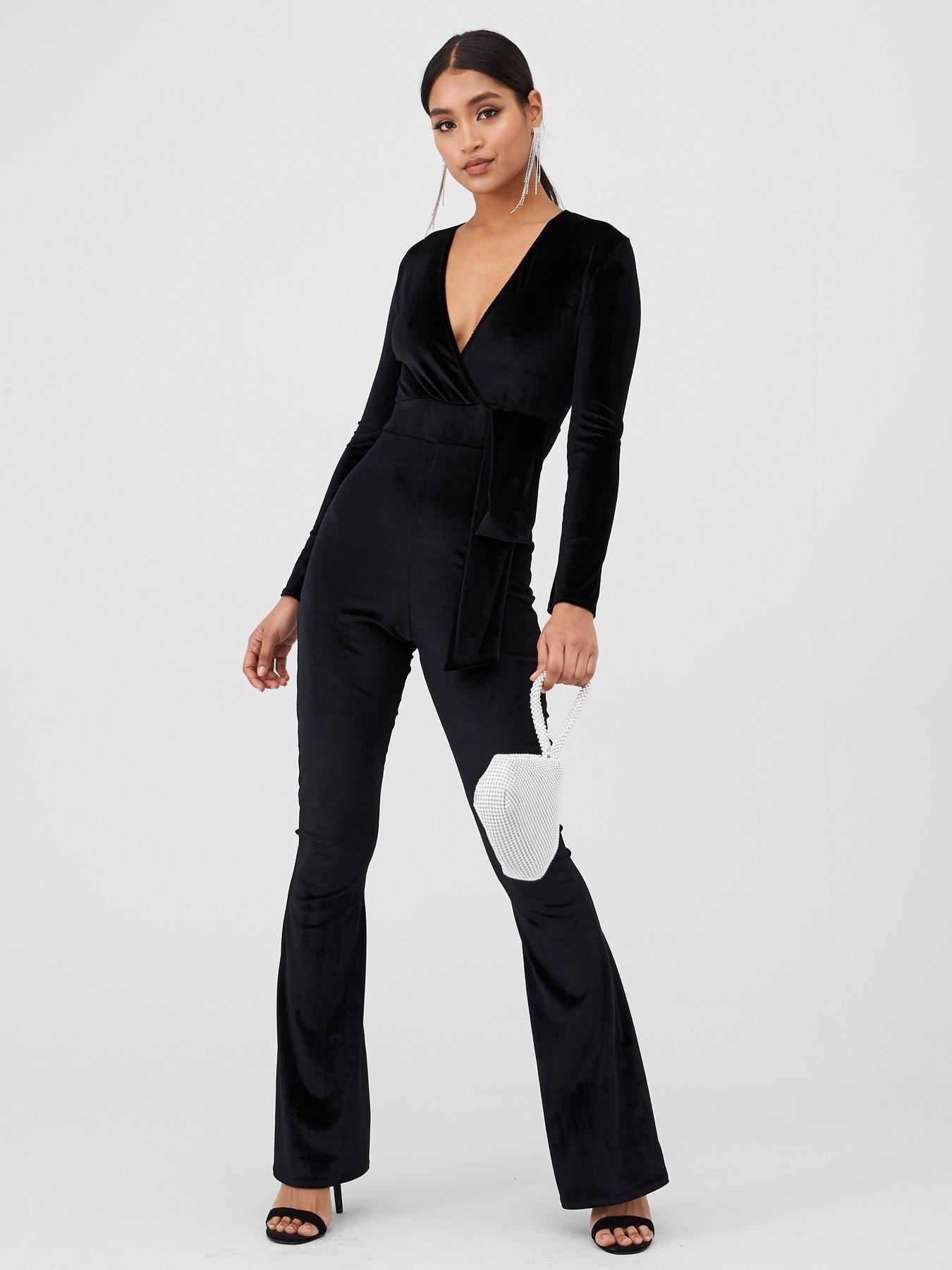 Baylis /& Knight BLACK JERSEY Puff Short Sleeve MINI Play Cat Jump Suit