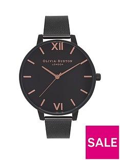 olivia-burton-olivia-burton-after-dark-matt-black-and-rose-gold-detail-big-dial-black-stainless-steel-mesh-strap-ladies-watch