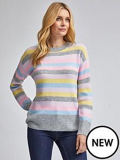 dorothy-perkins-rainbow-pastel-stripe-jumper-multi