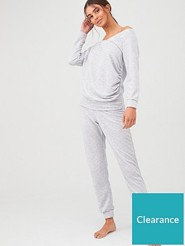 v-by-very-v-neck-lounge-set-grey