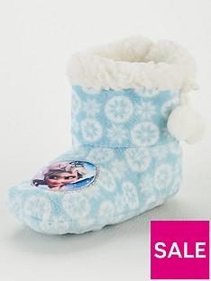 disney-frozen-girls-frozen-cosy-slipper-booties-blue