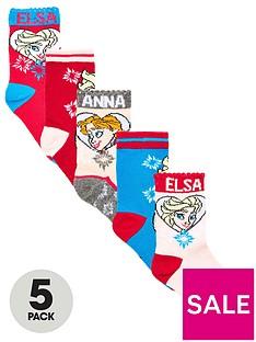 disney-frozen-girls-5-pack-elsa-and-anna-socks-multi