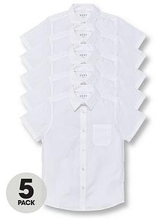 v-by-very-boys-5-pack-short-sleeve-school-shirts