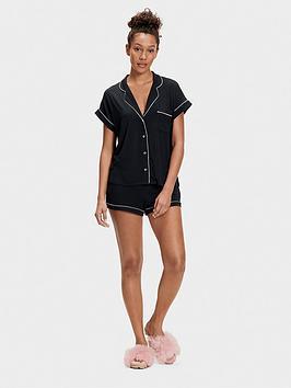 ugg-amelia-pj-knit-set-black