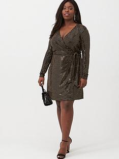 v-by-very-curve-glitter-wrap-dress-metallic
