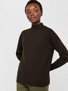 monsoon-leigh-recycled-polyester-jumper-chocolate