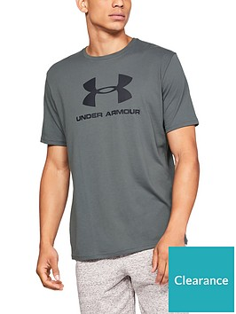 under-armour-sportstyle-logo-t-shirt-grey