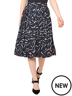 joe-browns-animal-pleated-skirt