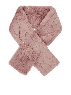 monsoon-fenty-faux-fur-stole-pink