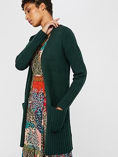 monsoon-rayney-rib-detail-cardigan-green