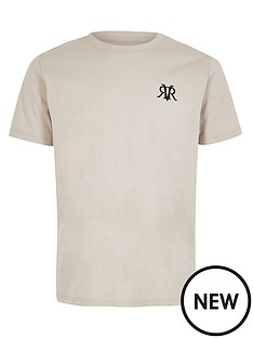 river-island-mini-boys-logo-short-sleeve-t-shirt--grey