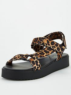 office-sanity-flat-sandal-leopard