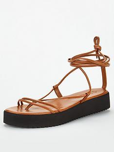 office-skinny-flat-sandal-tan