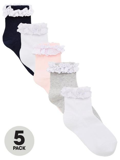 v-by-very-girls-5-pack-multi-occasion-ruffle-frill-socks-multi