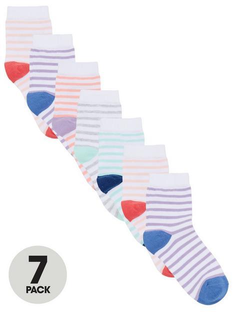 v-by-very-girls-7-pack-stripe-socks-multi