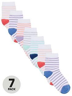 v-by-very-girls-7-pack-stripe-socks