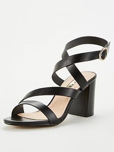 office-maroon-heeled-sandal-black