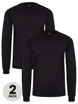 very-man-two-pack-of-long-sleeved-t-shirts-black