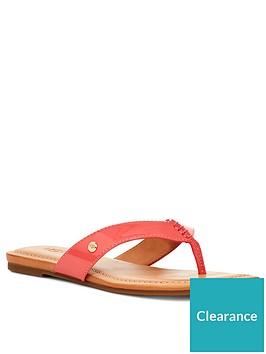 ugg-tuolumne-flip-flop-coral