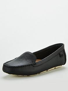 ugg-flores-brogues-black