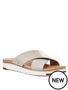 ugg-kari-flat-sandals-light-grey