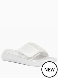ugg-la-light-slide-white