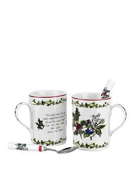 portmeirion-holly-amp-ivy-set-of-2-mugs-and-2-teaspoons