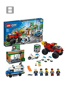 lego-city-60245-police-monster-truck-heist-with-van-and-motorbike