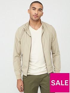 selected-homme-zip-through-harrington-jacket-brown