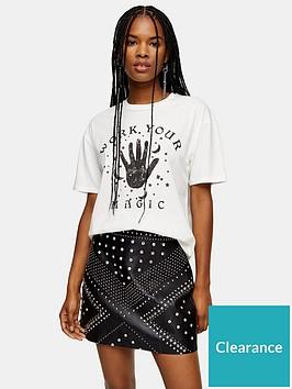 topshop-topshop-work-your-magic-t-shirt-ecru