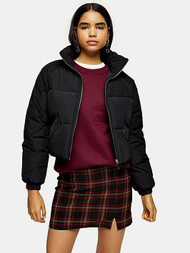 topshop-sara-padded-jacket-black