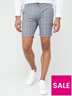 selected-homme-paris-chino-shorts-grey