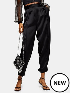 topshop-topshop-satin-button-hem-trousers-black