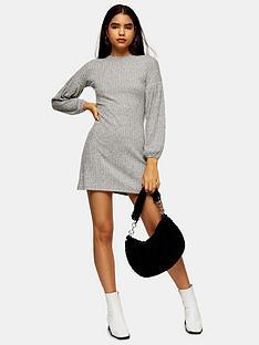 topshop-topshop-cut-amp-sew-balloon-mini-dress-grey-marl