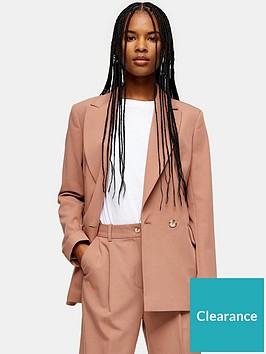 topshop-topshop-suit-blazer-pink