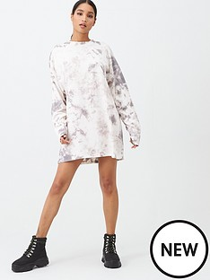 missguided-missguided-tie-dye-sweater-dress-nude