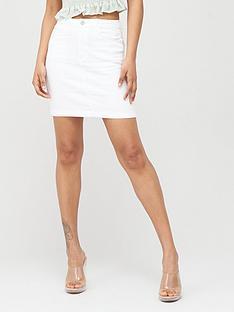 missguided-missguided-denim-super-stretch-mini-skirt-white