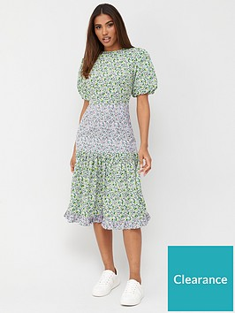v-by-very-puff-sleeve-midi-dress-floral