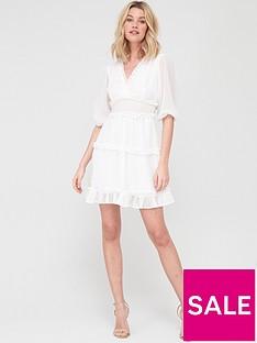 v-by-very-dobby-spot-ruffle-mini-dress-whitenbsp